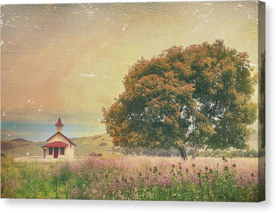 Ca Canvas Print - Of Days Gone By by Laurie Search