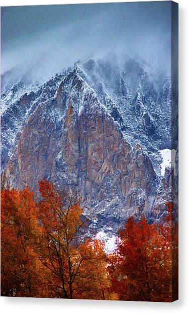 Of Fire And Ice Canvas Print