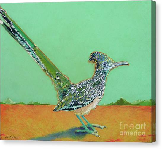 Lizards Canvas Print - Of Two Minds by Tracy L Teeter