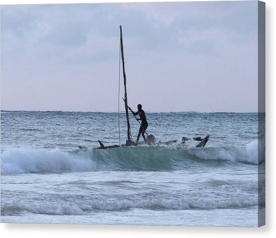 Education By Traveling Canvas Print - Off Fishing by Exploramum Exploramum