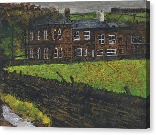 Off Hossock's Lane Canvas Print