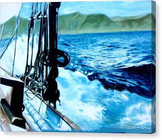 Off Maui Canvas Print