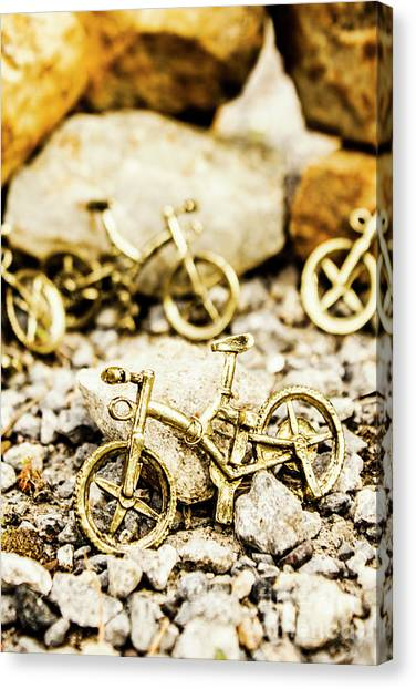 Unusual Canvas Print - Off Road Bike Trinkets by Jorgo Photography - Wall Art Gallery