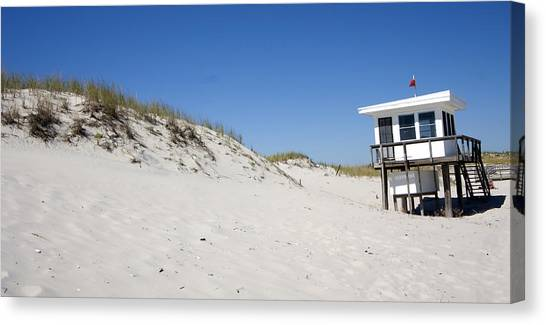Off-season Beach Canvas Print