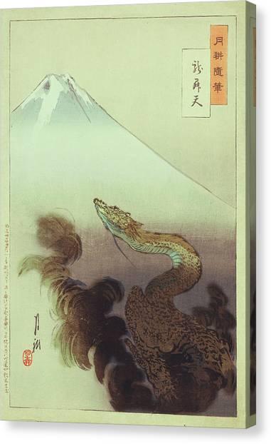 Ogata Gekko Dragon Canvas Print