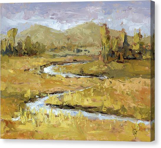 Ogden Valley Marsh Canvas Print