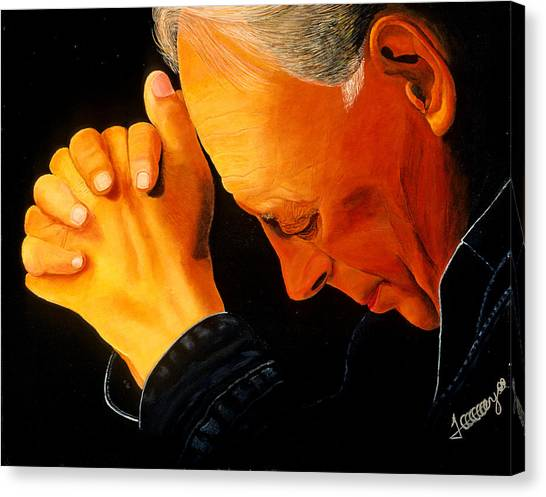 Oh Lord Hear Our Prayer Canvas Print by JoeRay Kelley