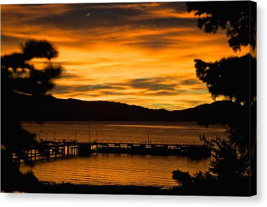 Oh Tahoe Glow Canvas Print