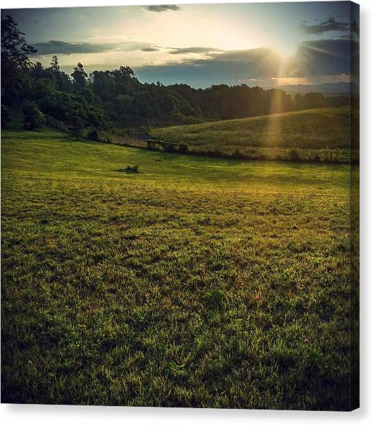 Oh What A Beautiful Morning Canvas Print