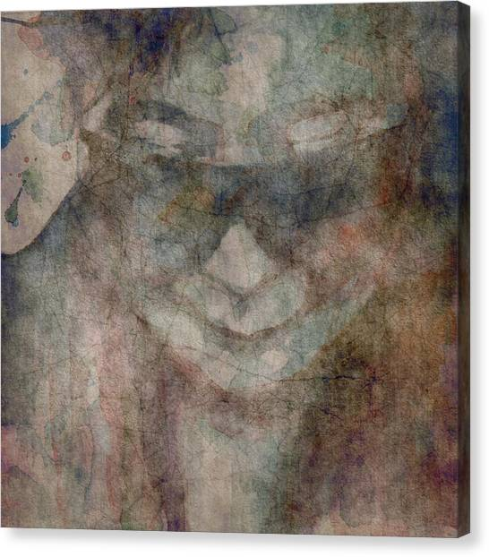 Yoko Ono Canvas Print - Oh Yoko Porcelain  by Paul Lovering