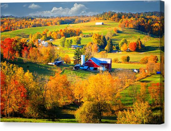 Ohio Amish Country Canvas Print