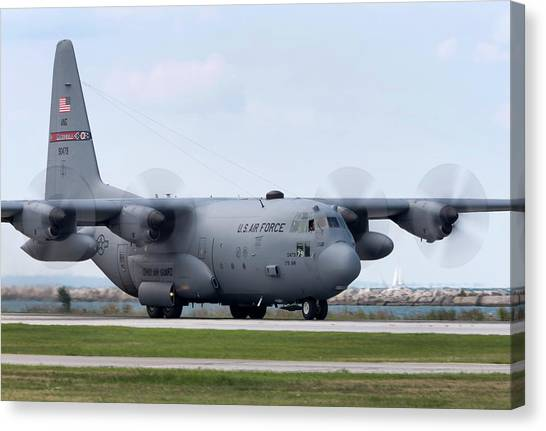 National Guard Canvas Print - Ohio Herc 2 by Peter Chilelli