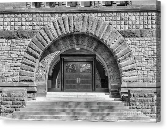 Ohio University Canvas Print - Ohio State University Hayes Hall Entry by University Icons