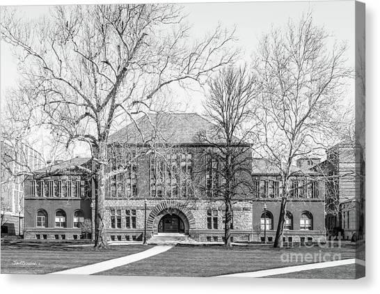 Ohio State University Canvas Print - Ohio State University Hayes Hall by University Icons