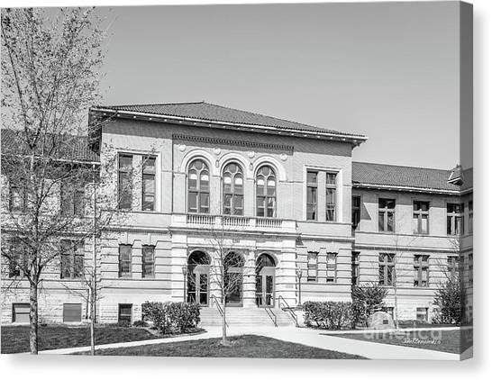 Ohio State University Canvas Print - Ohio State University Lazenby Hall by University Icons