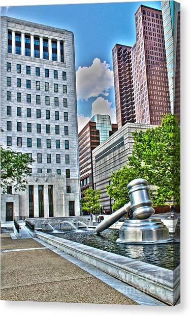 Ohio Supreme Court Canvas Print