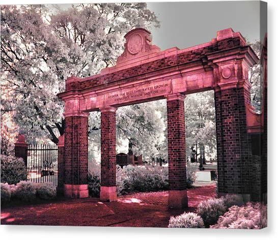 Ohio University Canvas Print - Ohio University Gate To The Green by Bob LaForce