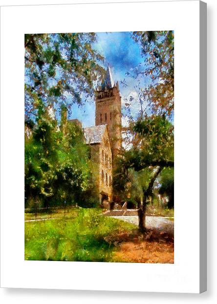 Ohio Wesleyan Chapel Canvas Print