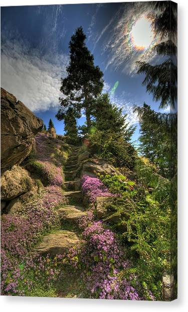 Ohme Gardens Canvas Print