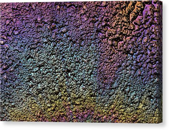 Pollution Canvas Print - Oil Colors by Christopher Johnson