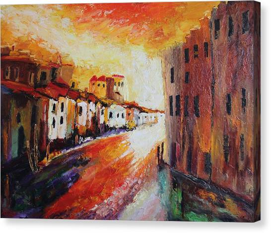 Oil Msc 013 Canvas Print
