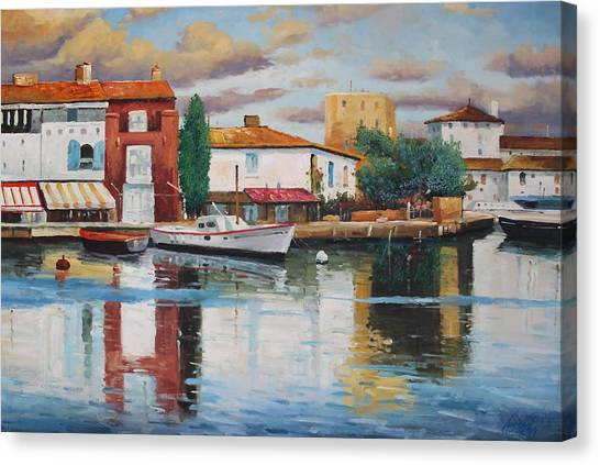 Oil Msc 019 Canvas Print