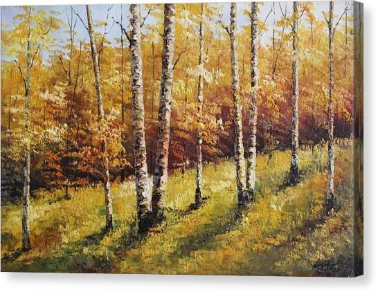 Oil Msc 028 Canvas Print