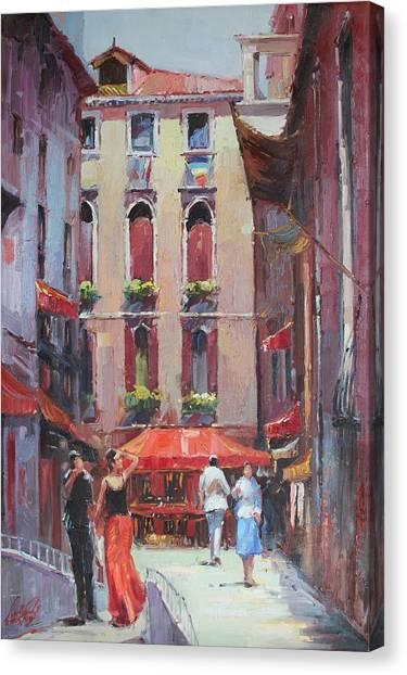 Oil Msc 043 Canvas Print