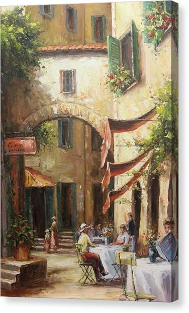 Oil Msc 050 Canvas Print