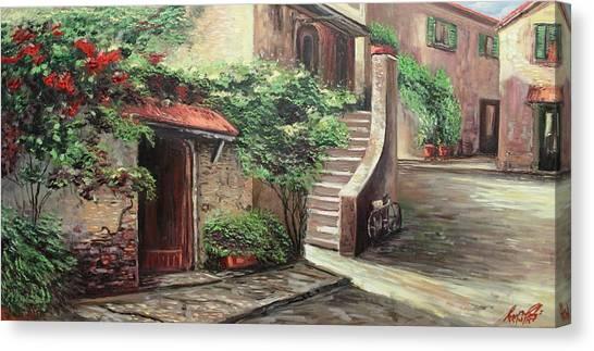 Oil Msc 058 Canvas Print