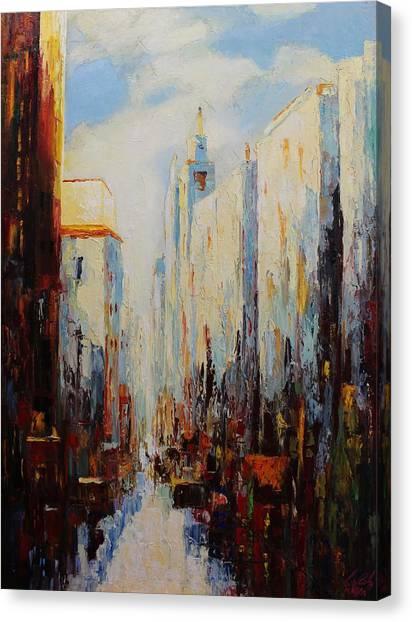 Oil Msc 059 Canvas Print