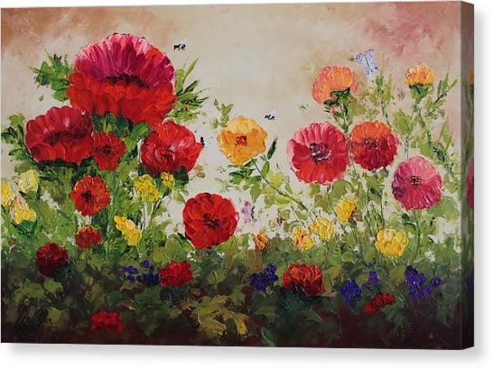 Oil Msc 060 Canvas Print