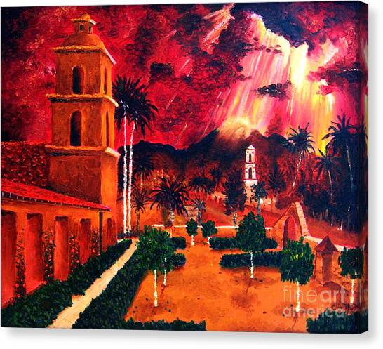 Ojai Red I Canvas Print by Chris Haugen