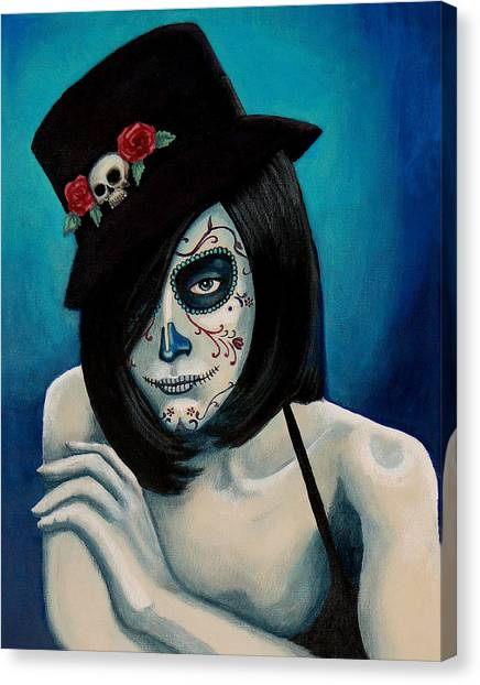 Ojos Triste Canvas Print