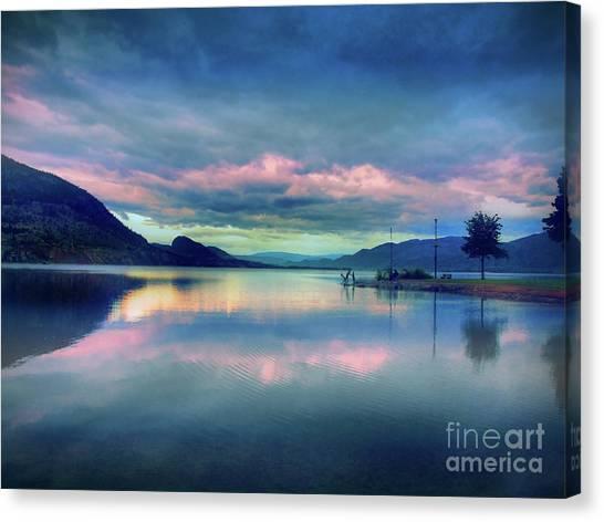 Penticton Canvas Print - Okanagan Mornings by Tara Turner