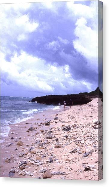 Okinawa Beach 15 Canvas Print by Curtis J Neeley Jr