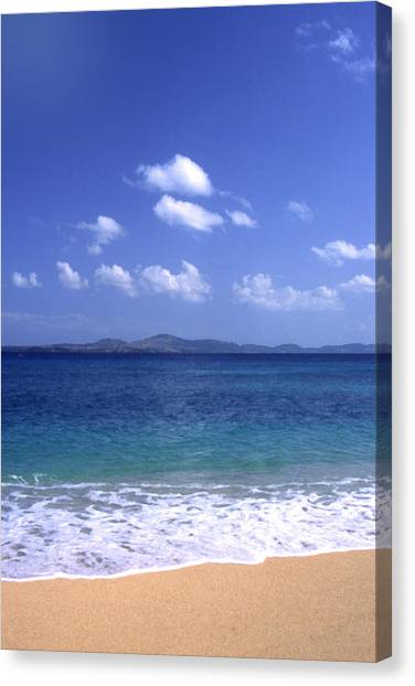 Okinawa Beach 8 Canvas Print