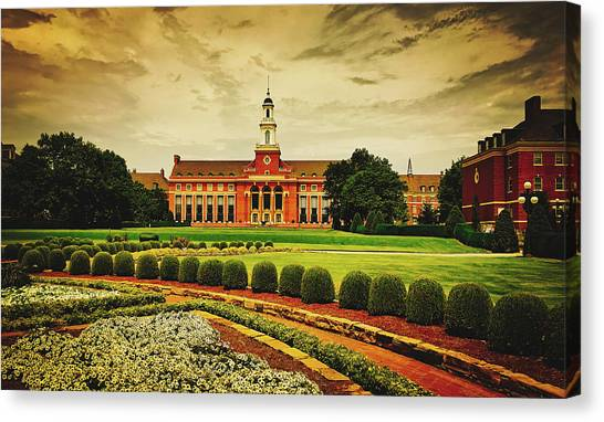 Oklahoma State University Canvas Print - Oklahoma State University by Pixabay