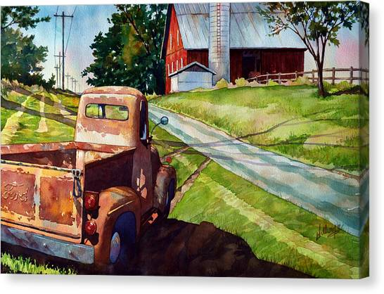 Ol '54 Canvas Print