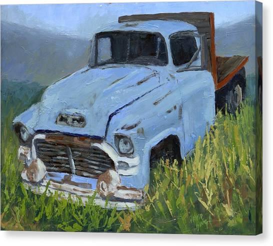 Ol' Blue Canvas Print by David King