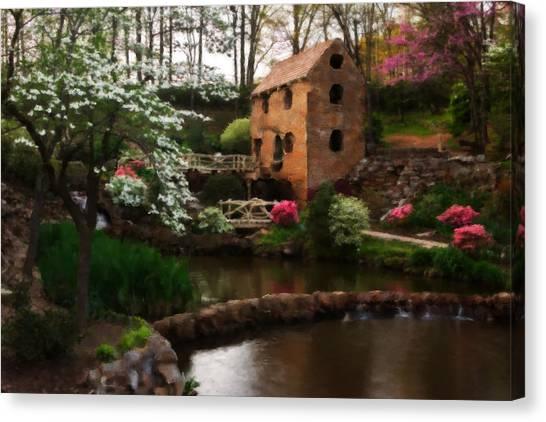 Ol' Water Mill Canvas Print