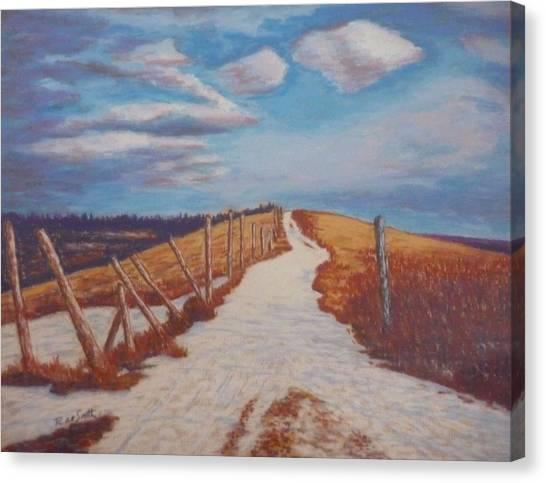 Olands Farm Canvas Print