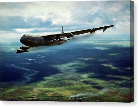Vietnam War Canvas Print - Old 100 by Peter Chilelli