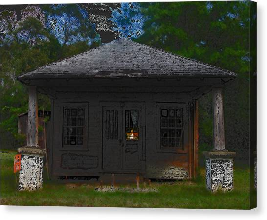 Old 86 2 Canvas Print by David A Brown