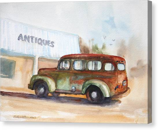 Old And Rusty Canvas Print by Bobby Walters