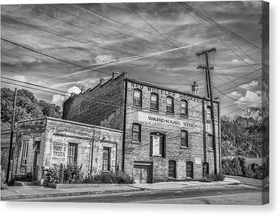 Old Asheville Building Canvas Print