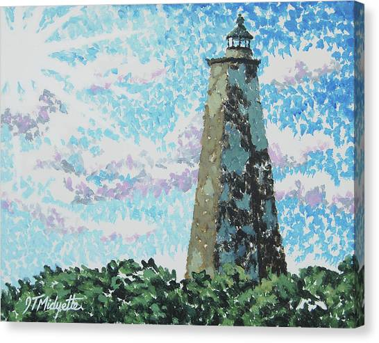 Old Baldy Lighthouse Canvas Print