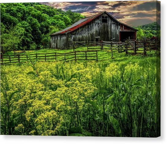 Canvas Print - Old Barn 2 by Elijah Knight