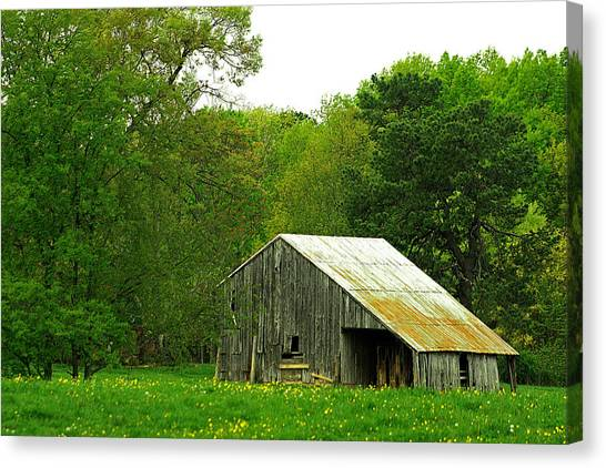 Old Barn V Canvas Print