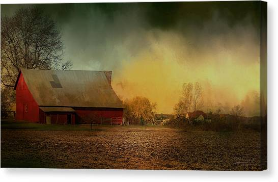 Old Barn With Charm Canvas Print